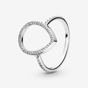 🍓Pandora Teardrop Silhouette Ring